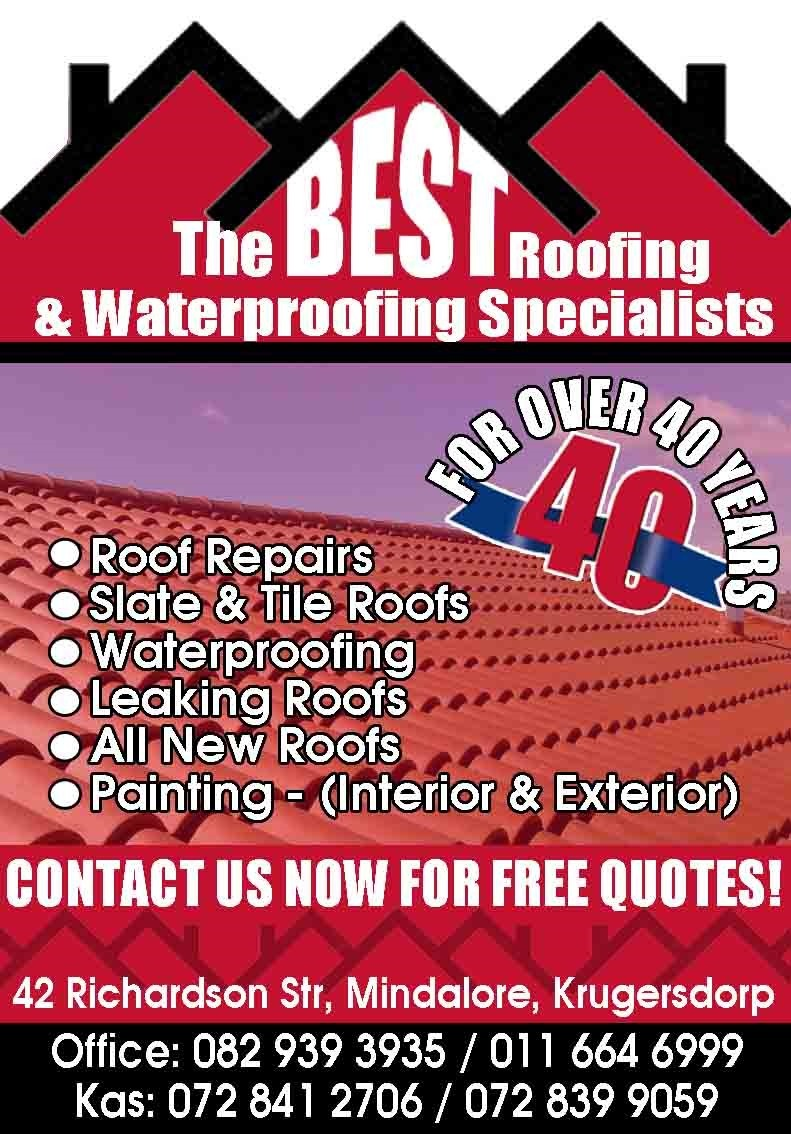 The Best Roofing And Waterproofing Specialists