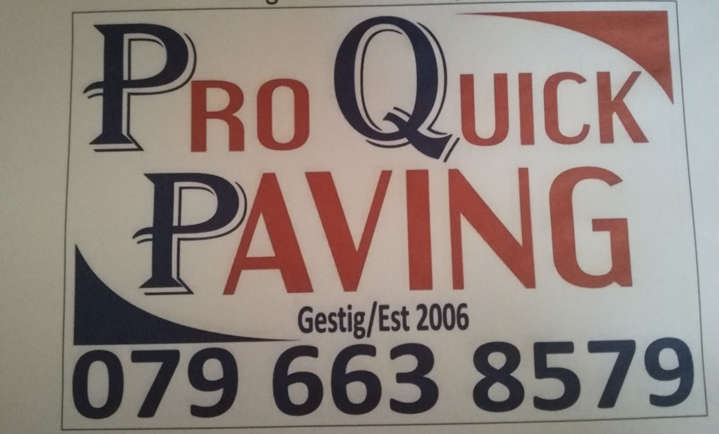 Pro Quick Paving