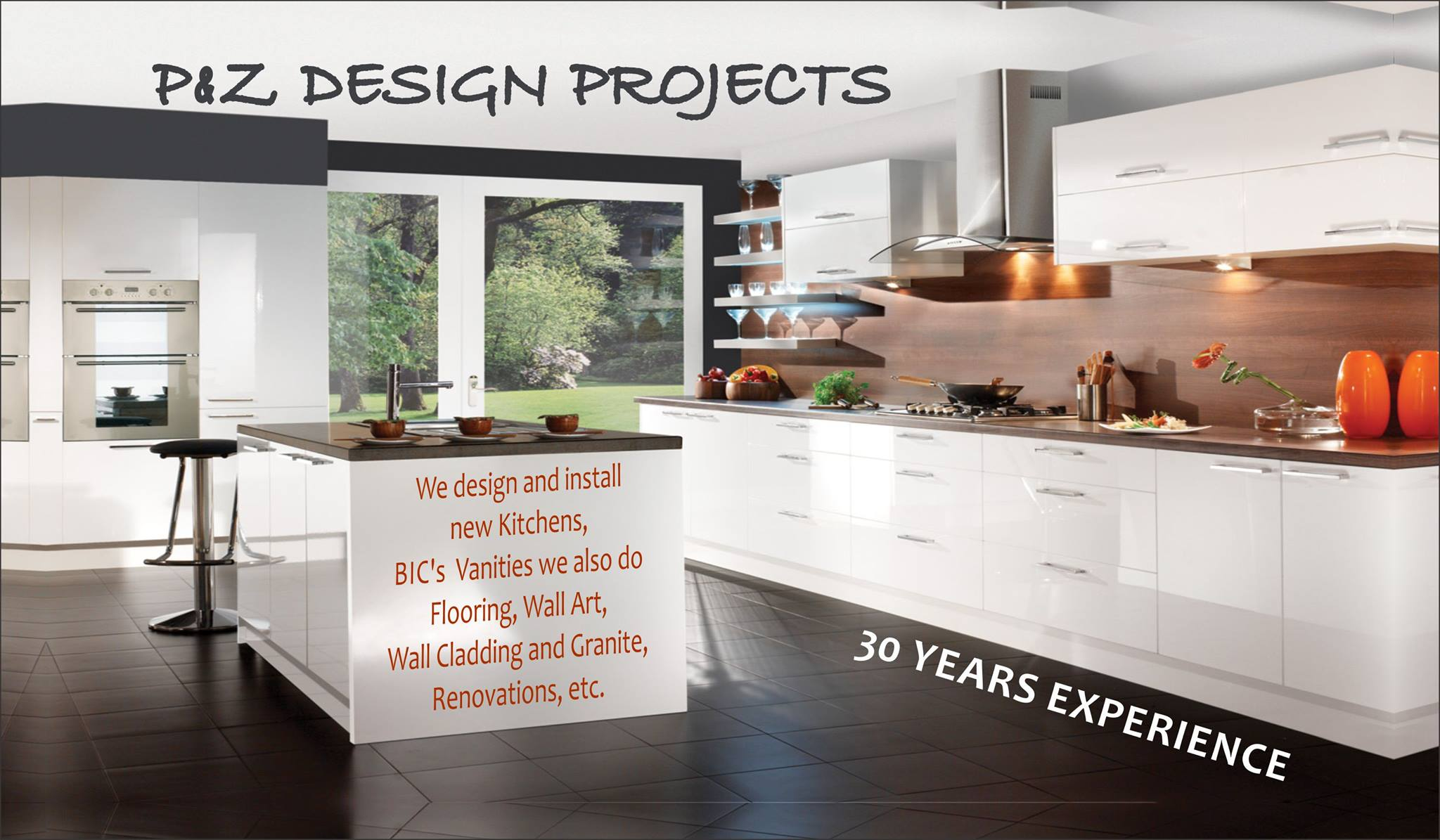 Design and Install Kitchens, BIC's & Vanities