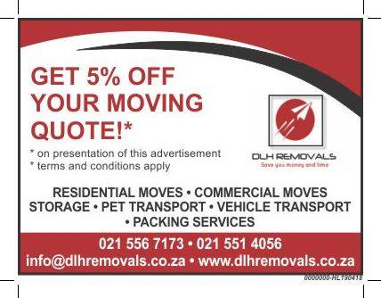 DLH REMOVALS (PTY) LTD