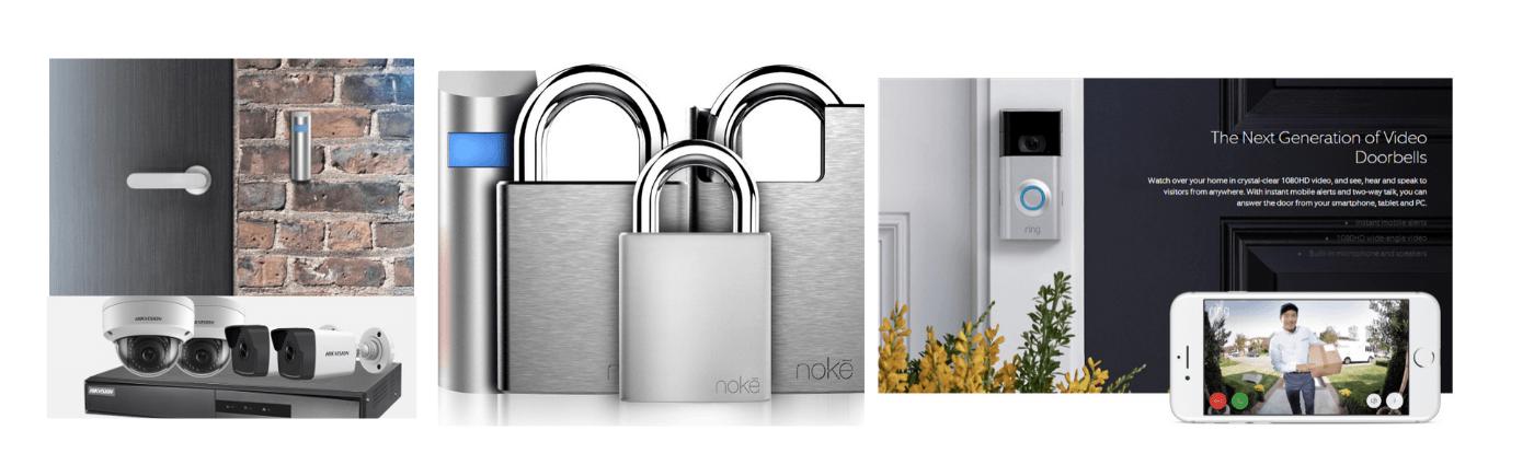 CCTV, Acces Control, Ring Door Bell, Smart locks