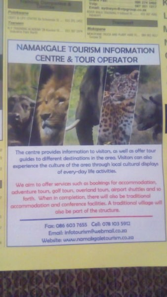 Phalaborwa Tourist Center &: Tour Operator