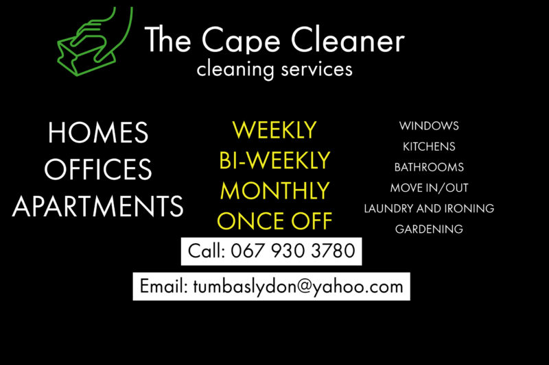 The Cape Cleaner