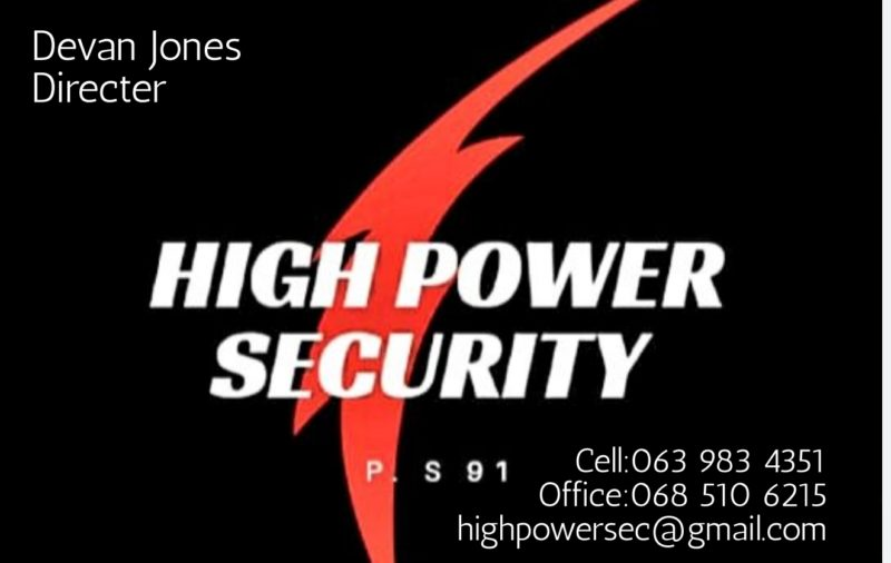 High Power Security