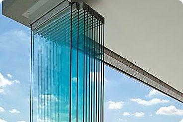 Frameless glass Multi directional stacking doors
