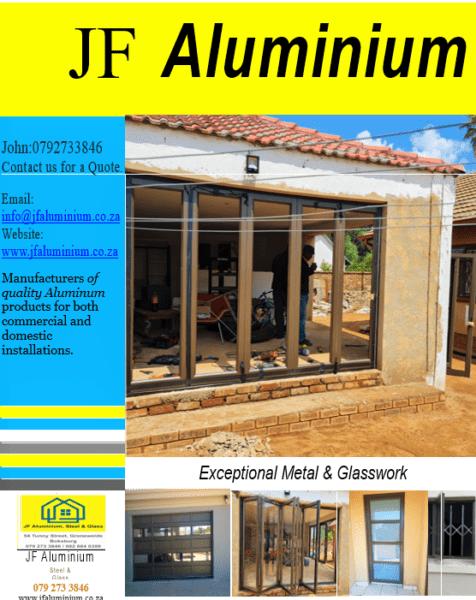 JF Aluminium Steel & glass